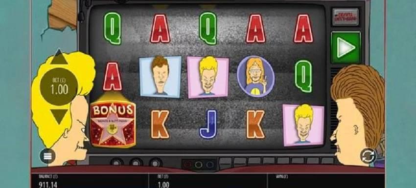 Beavis and Butt-Head Slot Machine Debuts