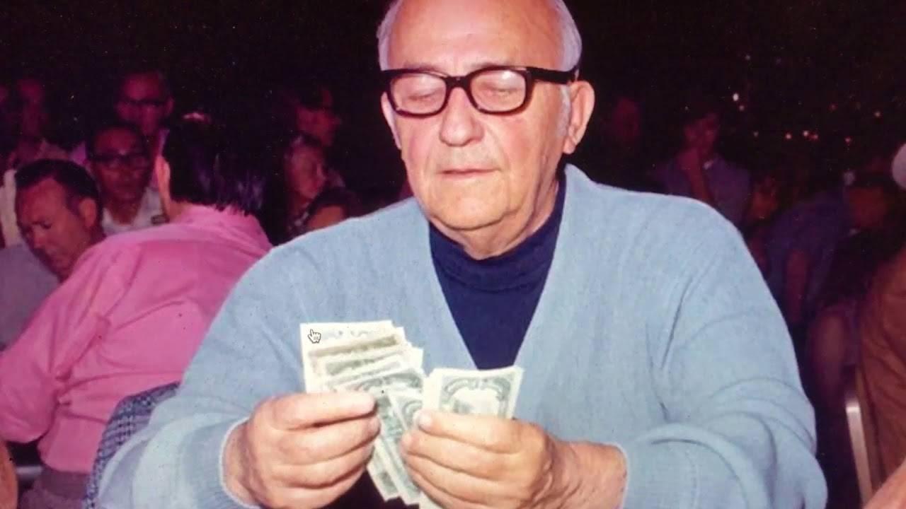 Las Vegas Poker Legend Johnny Moss